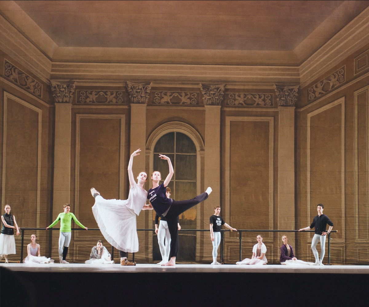 A gala concert of the Vaganova Ballet Academy in the Kremlin